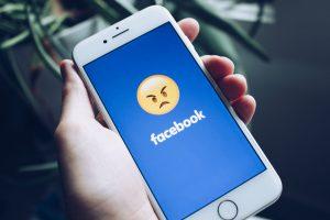 Facebook gedegradeerd