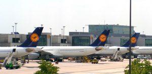 streng voor Lufthansa