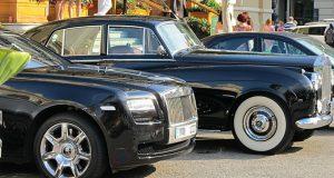 Rolls-Royce in zwaar weer