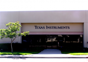 aandeel Texas Instruments