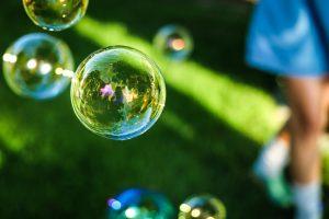 zeepbellen blazen