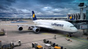 Het Duitse Lufthansa