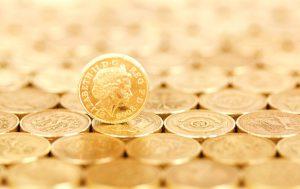 opmars van de goudprijs