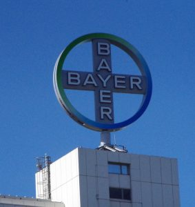 tegenvaller voor Bayer