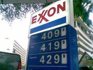 Exxon tankstation logo