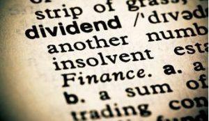 in de dividendportefeuille