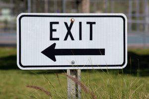 Exit van Theresa May