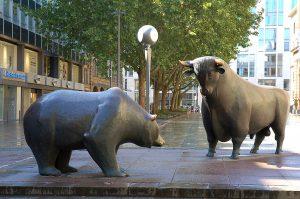 bearmarkt door de eeuwen heen