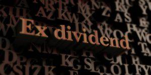 Ex-dividendoverzicht juli