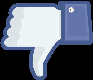 Facebook duim