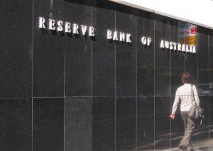 centrale bank in Australië