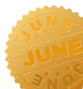 gouden maand in juni