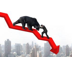 aandelenbeurzen gaan omlaag