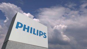 Philips, plus twee