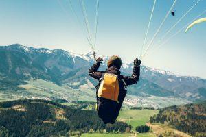 1-bij-2 putspread als parachute