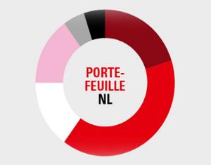 Alle posities in de min in Portefeuille NL
