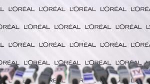 Hoge koers van L'Oréal
