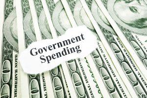 toenemende overheidsuitgaven