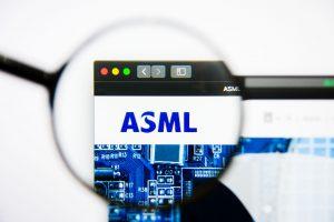 ASML over vijf jaar